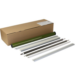 kit recyclage drum black, raclette drum, roller charge primaire, roller de nettoyage, barre de lubrification, roller brosse lubrifiant, raclette application lubrifiant. for RICOH Aficio MP C3503