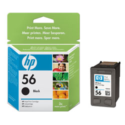Cartridge N°56 black 19ml for HP PSC 1310