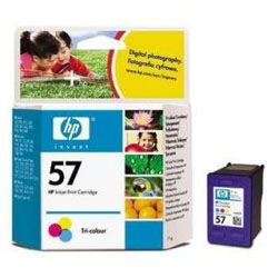 Cartridge N°57 3 colors 17ml for HP PSC 1310