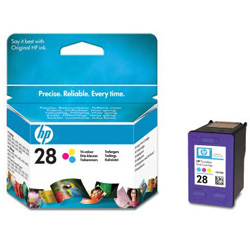 Cartridge N°28 color  8ml  190 pages for HP PSC 1310