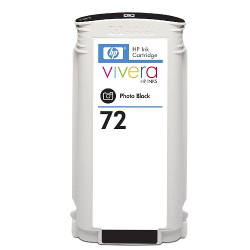 Cartridge N°72 inkjet black photo 130ml for HP Designjet T 1100