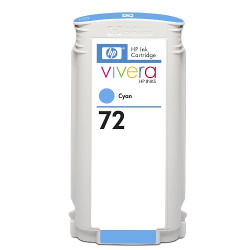 Cartridge N°72 inkjet cyan 130ml  for HP Designjet T 1100