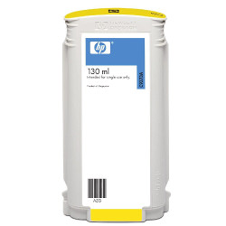 Cartridge N°72 inkjet yellow 130ml for HP Designjet T 1100