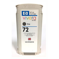 Cartridge N°72 inkjet gris 130ml for HP Designjet T 1100