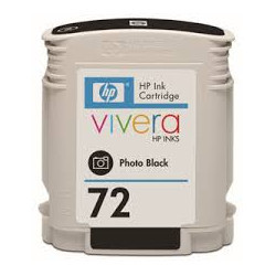 Cartridge N°72 inkjet black photo 69ml for HP Designjet T 1100