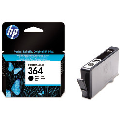 Cartridge N°364 black 250 pages for HP Photosmart C 5324
