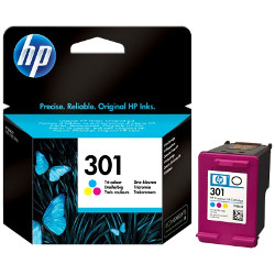 Cartridge N°301 3 colors 165 pages 3ml for HP Deskjet 1055