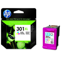 Cartridge N°301XL 3 colors 330 pages 6ml for HP Deskjet 1055