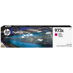 Cartouche N°973X encre magenta HC 7000 pages pour HP PageWide Managed P57750