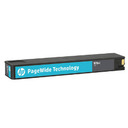 Cartouche N°976YC cyan THC 16.000 pages pour HP PageWide Managed P57750