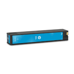 Cartouche N°991A toner cyan 8000 pages pour HP PageWide PRO 772