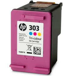 Cartouche N°303 couleurs 165 pages pour HP Envy Photo 7155